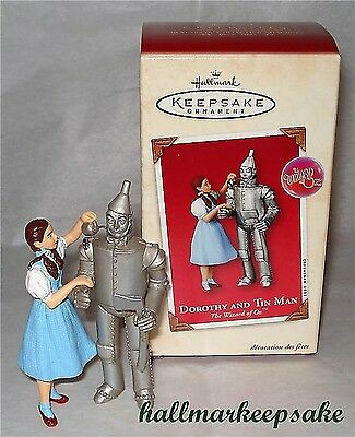 2003 Hallmark Keepsake Ornament THE WIZARD OF OZ DOROTHY AND TIN MAN