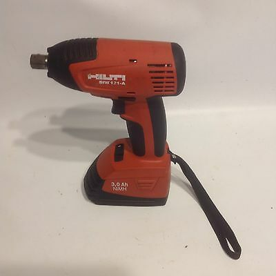 "Hilti Siw 121-A Cordless 1/2"" Impact Wrench Used Good Condition"