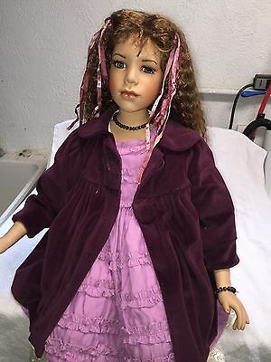 Beautiful Large Sitting Doll w Jacket, Boots - Gayle Lee for Tuss -  55 of 300