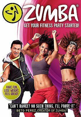 Zumba [DVD] Get your fitness party started. New and sealed, Free Delivery.