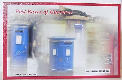 Royal Mail - Post Boxes of Guernsey by Dorset Soldiers Cert.Ltd.Ed no.14/200