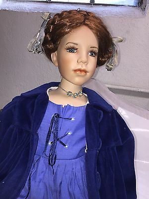 Beautiful Large Sitting Doll w Jacket, Boots - Gayle Lee for Tuss -  190 of 400
