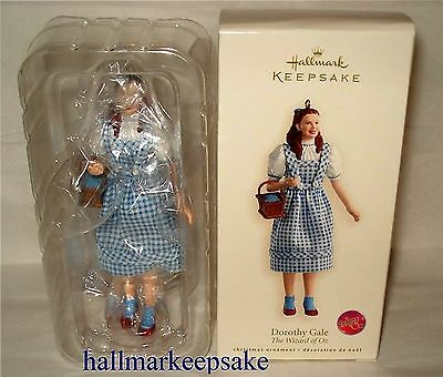 2007 Hallmark Keepsake Ornament The Wizard Of Oz Dorothy Gale **rare** Nib