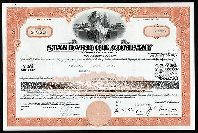Indiana: Standard Oil Company Bond Certificate (became Amoco, then BP)