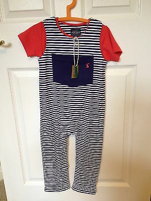 Bnwt Boys Joules Dungarees And Top Set Age 2-3