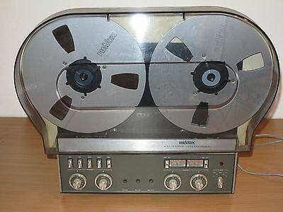 REVOX A77 TAPE RECORDER with ORIGINAL COVER in VERY GOOD CONDITION