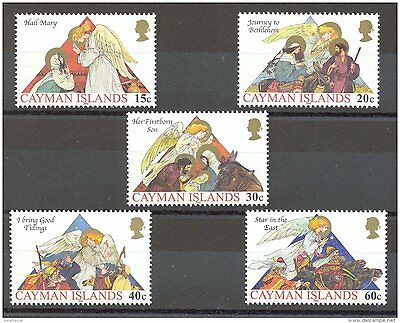 Cayman Islands 2002 Christmas MNH