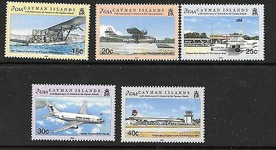 Cayman Islands 2002 Aviation MNH