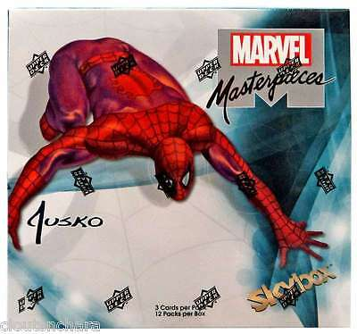 2016 Upper Deck Marvel Masterpieces Joe Jusko Sealed Hobby Box Canada S/H Only
