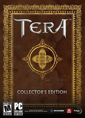 Tera Online collector's edition PC NEW & SEALED