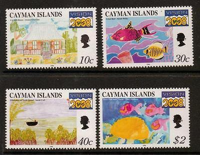 Cayman Islands 1999 Vision 2008 Project. Children's Paintings MNH