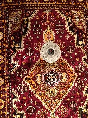 Islamic Portable Prayer Rug, In And Out Door With Qibla Compass