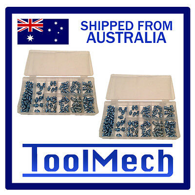 110Pc Metric & 110 Imperial Grease Nipple Kit Set Lubricant Free Express Shippin
