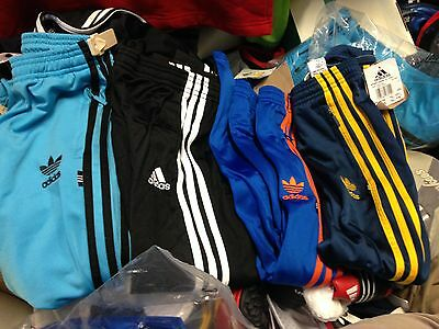 ADIDAS TRACK SUIT PANTS in sports man polyester in size 18 to 24 inch at£9 ree