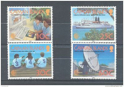 Cayman Islands 1997 Telecommunications MNH