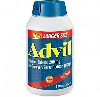 ADVIL 200 mg Tablets New Large Size  Bottle 360 ct Tabs Pain Relief Joint