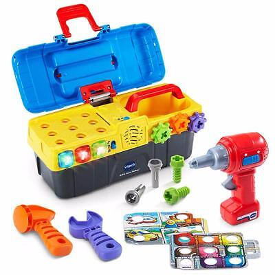 VTech Drill Hammer And Learn Toolbox Fix Playset Gamebox Toy for Kids Toddlers