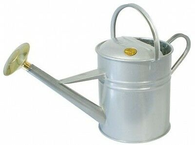 Haws V143T 8.8L Traditional Peter Rabbit Titanium Watering Can - Silver