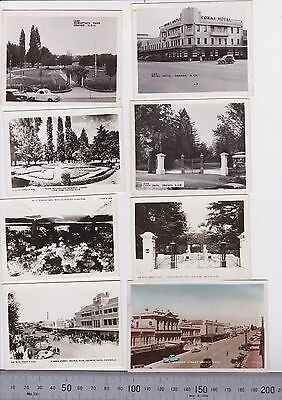 8 x old photos views of Orange NSW  dating from the 1930s