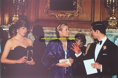 mm0137 - Lady Diana Spencer & Prince Charles - photograph