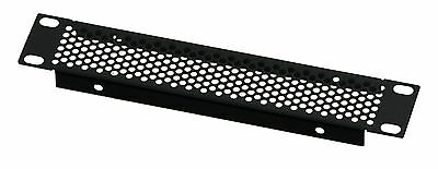 1U Half-Rack Perforated Vented Folded Panel 9.5 inch 241mm Width