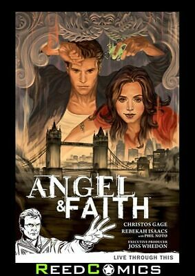 ANGEL AND FAITH SEASON 9 VOLUME 1 LIVE THROUGH THIS GRAPHIC NOVEL Collects #1-5