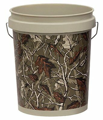 United Solutions PN0060 18.9-Liter Industrial Pail Bucket, 5 Gallon, Taupe with