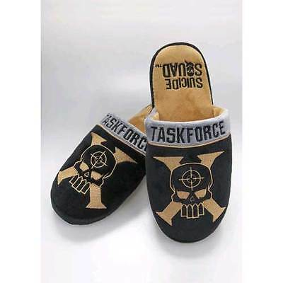 Suicide Squad - Taskforce X Mule Slippers 8-10 NEW Groovy