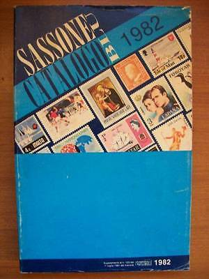 Sassone Catalogo Blu 1982   (O22)