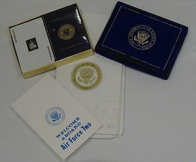 "Original Air Force Two Playing Cards Set & Napkins ""Vice Presidents Plane"""
