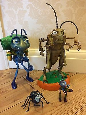 Disney Pixar A BUGS LIFE FLICK & HOOPER ACTION FIGURE TOY Talking Moving Parts