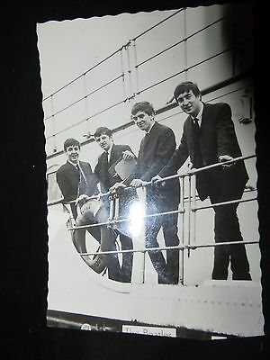 Beatles Postcard/Photo from the 1960's in black and white