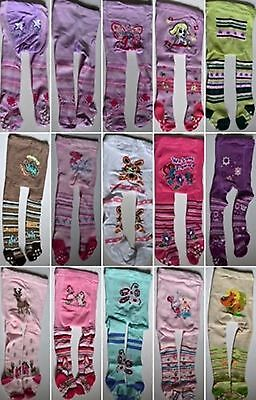 Children baby girls boys funny tights patterned very warm Size 0-5 years