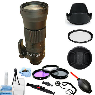 Sigma 150-600mm f/5-6.3 DG OS HSM Contemporary Lens (Nikon F)!! PRO KIT NEW!!
