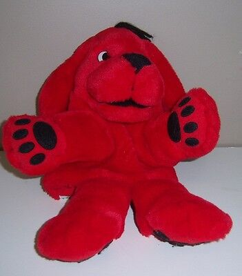 """Clifford The Big Red Dog Hand Puppet 14"""" - Scholastics"""