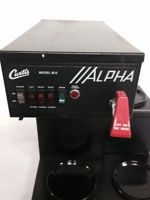 Curtis Alpha 3S Auto Commercial Coffee Brewer Maker W/Faucet CALL FOR SHIPPING