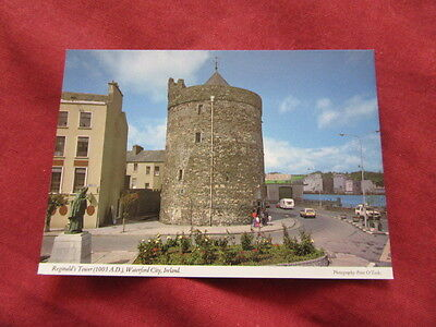 VINTAGE IRELAND: WATERFORD city Reginald's tower colour HINDE