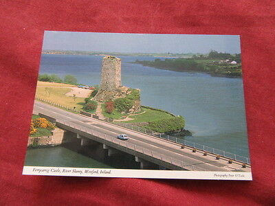 VINTAGE IRELAND: WEXFORD Ferrycarrig castle colour HINDE
