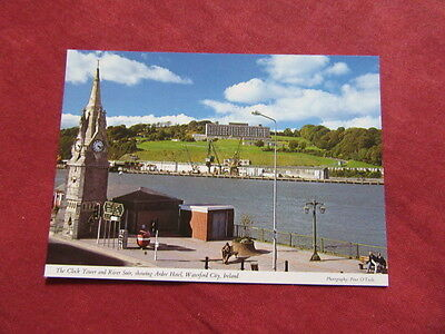 VINTAGE IRELAND: WATERFORD city Ardee hotel panorama colour HINDE