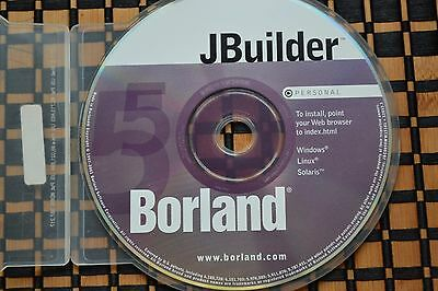 JBuilder 5 Personal Borland Windows Linux Solaris with Serial Number & Key