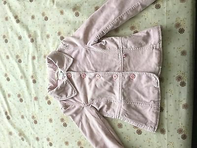 Pink H&M girls coat , 6-7 years