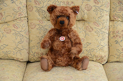 STEIFF Limited Edition GRIZZLE Mohair Grizzly collector Bear 34cm