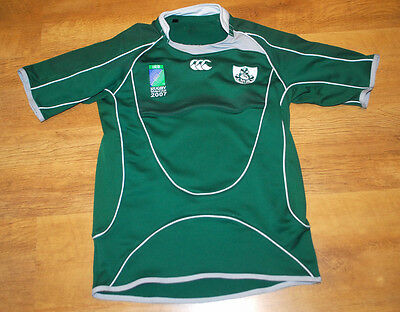 Canterbury Ireland Rugby World Cup 2007 rugby shirt
