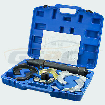 Spring compressor Mc Pherson Strut system Tuning Front lowering vehicle tool Set