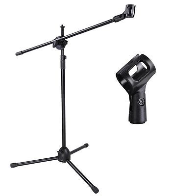 High Quality Professional Boom Microphone Mic Stand Holder Adjustable 1 Clips UK