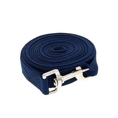 Nylon Lunge Lead Blue 7m (23ft) Zilco Horse Equine