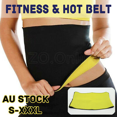 Hot Shaper Belt Slim Fit Body Shaper Belly Waist Trimmer Fat Burn Sweat Neoprene