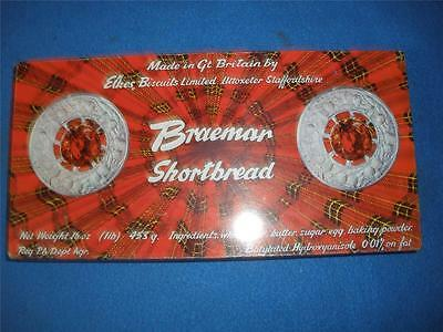 Collectable Biscuit Tin Braemar Shortbread England