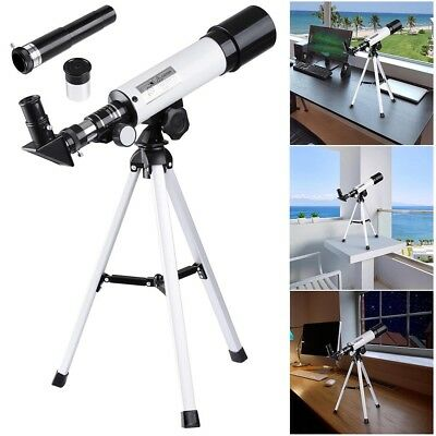 360/50mm Astronomical Refractor Telescope Refractive Eyepieces Tripod Beginners