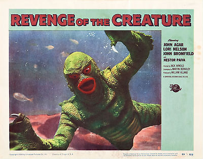 Revenge of the Creature 11 X 14  Lobby Card LC